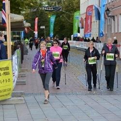 2. Tartu Linnamaraton / Sügisjooks - Katrin Freiberg (5018), Brigitta Mõttus (5086), Merje Teder (5142)