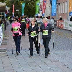 2. Tartu Linnamaraton / Sügisjooks - Katrin Freiberg (5018), Brigitta Mõttus (5086)