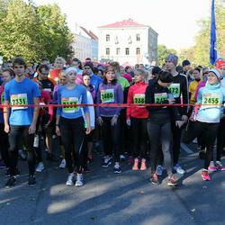 2. Tartu Linnamaraton / Sügisjooks - Oskar Kobar (2331), Rosa Gwen Lorenz (2333), Kristin Hansen (2455), Annika Põld (2480)