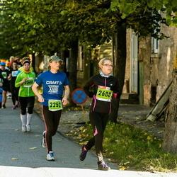 2. Tartu Linnamaraton / Sügisjooks - Aarne Luud (2252), Kaidi Kenkmann (2688)