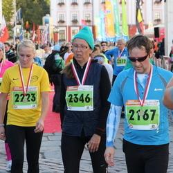 2. Tartu Linnamaraton / Sügisjooks - Kait Aidnik (2167), Annika Altoja (2223), Kadri Kivistik (2346)