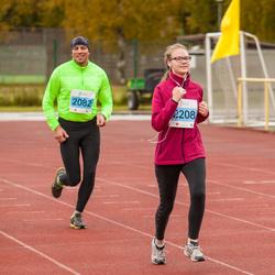 32. Paide - Türi Rahvajooks - Ago Luus (2082), Hannela Nordlund (2208)