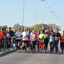 2. Tartu Linnamaraton / Sügisjooks - Marti Soosaar (264), Silver Hannus (345), Tauno Ojasaar (386), Veiko Vainküla (391), Anna-Kati Pahker (449), Joel Jaago (531)