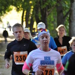 2. Tartu Linnamaraton / Sügisjooks - Erik Jaaniso (230), Liisa Kull (478)