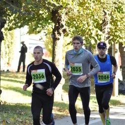 2. Tartu Linnamaraton / Sügisjooks - Aarne Nirk (2035), Risto Kaljund (2036), Heigo Nõmmik (2044)