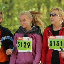 2. Tartu Linnamaraton / Sügisjooks - Adeele Soorm (5129), Kätly Soorm (5131), Teemu-Oliver Soorm (5132)