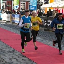 2. Tartu Linnamaraton / Sügisjooks - Annika Altoja (2223), Mario Kirt (2606), Juris Gaidelis (2879)