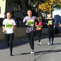 2. Tartu Linnamaraton / Sügisjooks - Marta Empele (2335), Ance Andrejeva-Empele (2336)