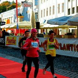 2. Tartu Linnamaraton / Sügisjooks - Katrin Veber (2825), Valve Liivak (10019), Timo Õun (10054)