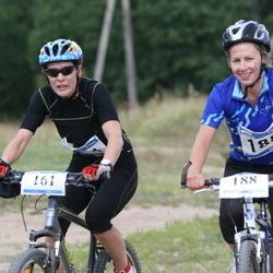 1. Sportland Kõrvemaa Triatlon - Age Luha (161), Kris-Marie Koppel (188)