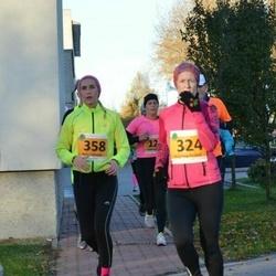 40. Saaremaa Kolme Päeva jooks - Kristina Rüütel (324), Agne Väljaots (358)
