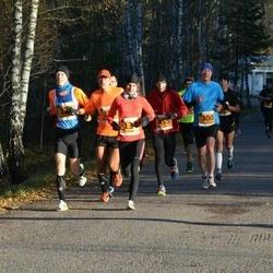 40. Saaremaa Kolme Päeva jooks - Kaisa Kukk (134), Arnis Sulmeisters (300), Peeter Vennikas (455)