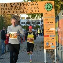 40. Saaremaa Kolme Päeva jooks - Brait Õispuu (145), Evelin Talts (363)