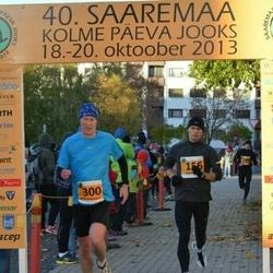 40. Saaremaa Kolme Päeva jooks - Arvi Nõmm (156), Arnis Sulmeisters (300)