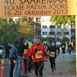 40. Saaremaa Kolme Päeva jooks - Andre Abner (22), Tarvo Pihlas (328)