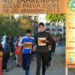 40. Saaremaa Kolme Päeva jooks - Kristjan Lehesmets (158), Andre Lomaka (467)
