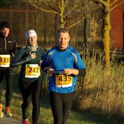40. Saaremaa Kolme Päeva jooks - Britt Jaaska (247), Rando Riks (331), Raul Liebenau (435)