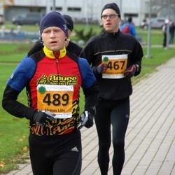 40. Saaremaa Kolme Päeva jooks - Andre Lomaka (467), Urmas Lõiv (489)