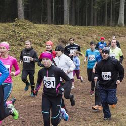 Elva Järvedejooks - Priit Libe (283), Mari-Liis Länik (291), Raiko Palm (389), Aare Einsoo (396)