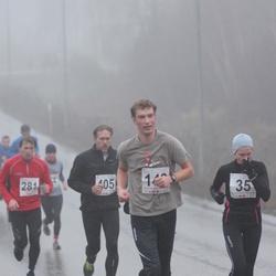 2. Tartu Novembrijooks - Järvi Valter (35), Peeter Kuznetsov (281), Arno Proode (405)