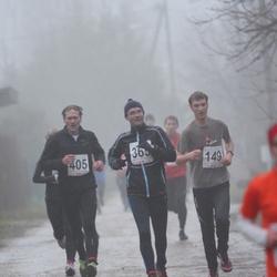 2. Tartu Novembrijooks - Mart Kelk (149), Meelis Daaniel (365), Arno Proode (405)