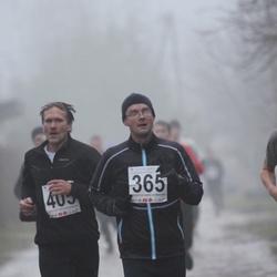 2. Tartu Novembrijooks - Meelis Daaniel (365), Arno Proode (405)