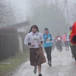 2. Tartu Novembrijooks - Ando Sõrmus (143), Nele Roosipuu (418)