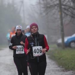 2. Tartu Novembrijooks - Anastassia Vilderson (302), Maris Meeru (406)