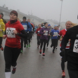 2. Tartu Novembrijooks - Triin Lett (245), Kaisa Kroman (270), Chris Giorgi (368)