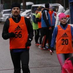 DNB Vana-aasta jooks - Maie Kuusik (20), Indrek Jürgenstein (66)