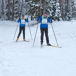 RMK Kõrvemaa Suusamaraton - Mait Kommusaar (116), Arlis Pipenberg (278)