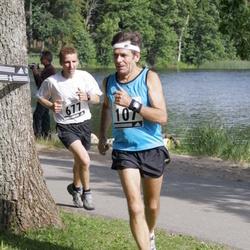 26. jooks ümber Pühajärve - Matti Pärn (107), Aarne Seeba (677)