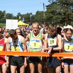1. Ramirendi Kevadjooks - Margus Pirksaar (1), Taivo Püi (2), Vjatsheslav Koshelev (5), Anastassija Taar (7), Olga Voroshnina (8), Henry Uljas (23), Viktors Slesarenoks (29)