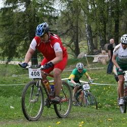 Rõuge Rattamaraton (EEC) 2007 - Tiit Einmaa (408), Annika Rauk (2199)