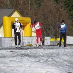 17. Tallinna Suusamaraton - Jan Aas (244), Arno Peever (319), Teet Enok (333)