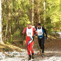 17. Tallinna Suusamaraton - Dag Kivila (74), Aivar Käesel (126)