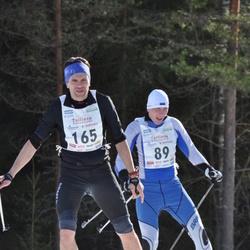 17. Tallinna Suusamaraton - Rannar Raantse (89), Priit Rooden (165)