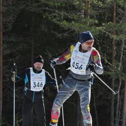 17. Tallinna Suusamaraton - Peeter Müürsepp (346), Aare Kiik (456)