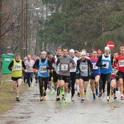 Tartu Parkmetsa Jooks - Rauno Laumets (3), Bert Tippi (4), Hardo Reinart (281), Anti Puustus (299), Allar Lamp (356), Jan Õiglane (365)