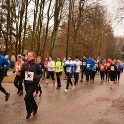Tartu Parkmetsa Jooks - Brita Vibo (92), Aire Arge (96), Pauliine Konsa (373)
