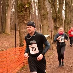 Tartu Parkmetsa Jooks - Ando Sõrmus (79), Kairit Johanson (328)