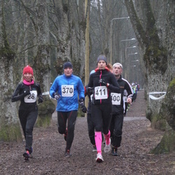 Tartu Parkmetsa Jooks - Andra Puusepp (28), Rene Kase (370), Maiken Mätik (411)