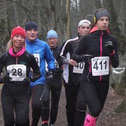 Tartu Parkmetsa Jooks - Andra Puusepp (28), Maiken Mätik (411)