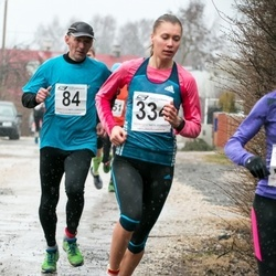 Tartu Parkmetsa Jooks - Kajar Tilga (84), Birgit Pihelgas (334)
