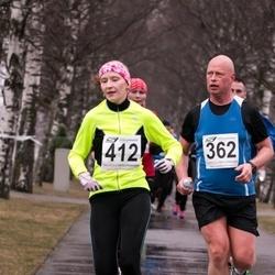 Tartu Parkmetsa Jooks - Raul Lõhmus (362), Agris Ambos (412)