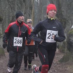 Tartu Parkmetsa Jooks - Oksana Aasa (231), Urmas Muru (286)