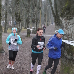 Tartu Parkmetsa Jooks - Anni Trikkant (150), Hanna-Elisabeth Hool (157)