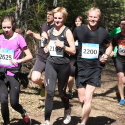 RMK Kõrvemaa Kevadjooks - Triin Vilman (2199), Tiit Rebane (2200), Birgit Balitski (2625)
