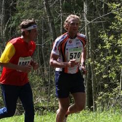 SEB 25. Tartu Jooksumaraton - Andre Pukk (570), Tõnu Ilves (1087)