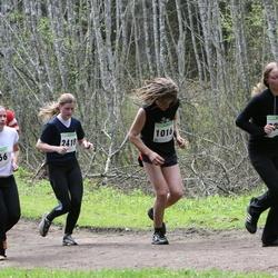 SEB 25. Tartu Jooksumaraton - Tõnu Rahi (621), Mattias Tiganik (1016), Anneli Tamm (2418), Sille Uusna (2466)
